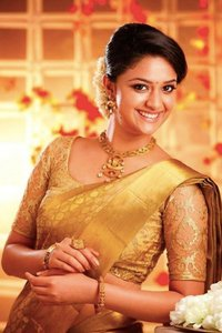 Actor Keerthi Suresh in Saamy II, Actor Keerthi Suresh photos, videos in Saamy II