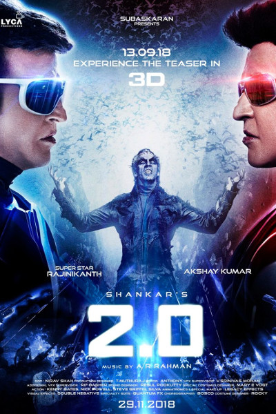Tamil Movie 2.0 Photos, Videos, Reviews