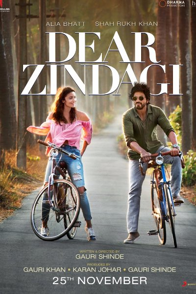 Hindi Movie Dear Zindagi Photos, Videos, Reviews