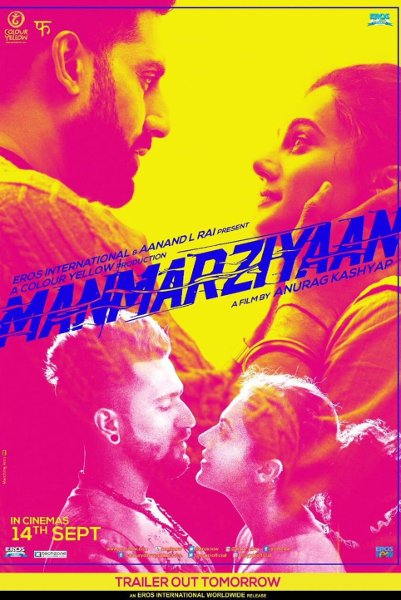 Hindi Movie Manmarziyaan Photos, Videos, Reviews