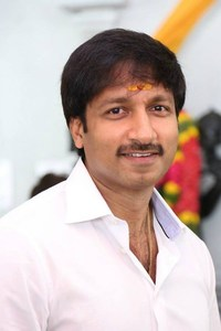 Actor Gopichand in Sahasam, Actor Gopichand photos, videos in Sahasam