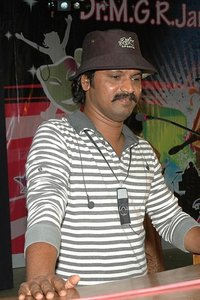Director Cheran in Pokkisham, Director Cheran photos, videos in Pokkisham