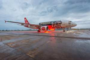 Kabali Flies With Air Asia