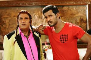 Kaththi Sandai Movie Stills | Vishal, Vadivelu