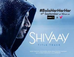 Ajay Devgn's effort for the title track of Shivaay