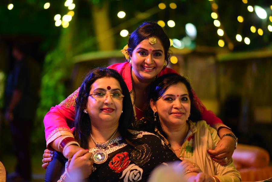Actress Radha 25th year Wedding Anniversary Stills | Ambika, Mallika Nair