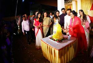 Actress Radha 25th year Wedding Anniversary Stills | Thulasi Nair, Karthika Nair