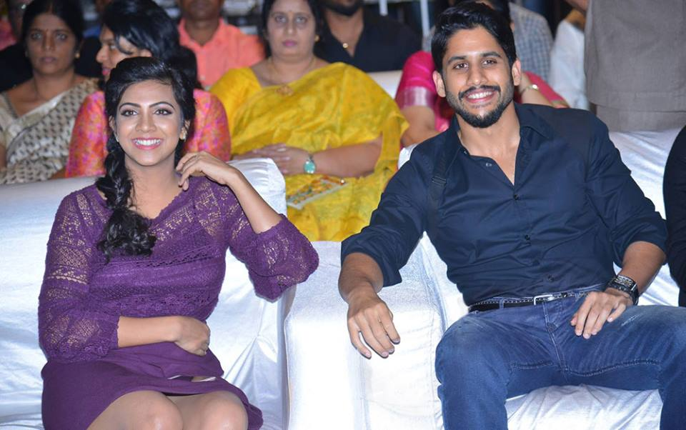 Naga Chaitanya, Madonna Sebastian at Premam Audio Launch