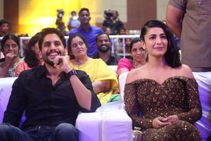 Naga Chaitanya, Shruti Haasan at Premam Audio Launch