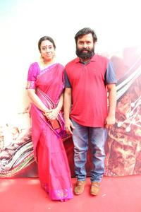 Music Composer Santhosh Narayanan with his wife at Audio Launch