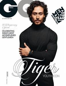 Tiger Shroff Latest Photo shoot For GQ India