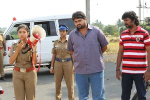 Ivan Yarendru Therikiratha Movie Stills | Varsha Bollamma, Arjunan, NKPK Rajkumar