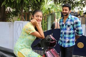 Ivan Yarendru Therikiratha Movie Stills | Office Vishnu, Varsha Bollamma