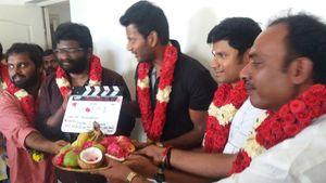 P. S. Mithran- Vishal Film kick started today with pooja