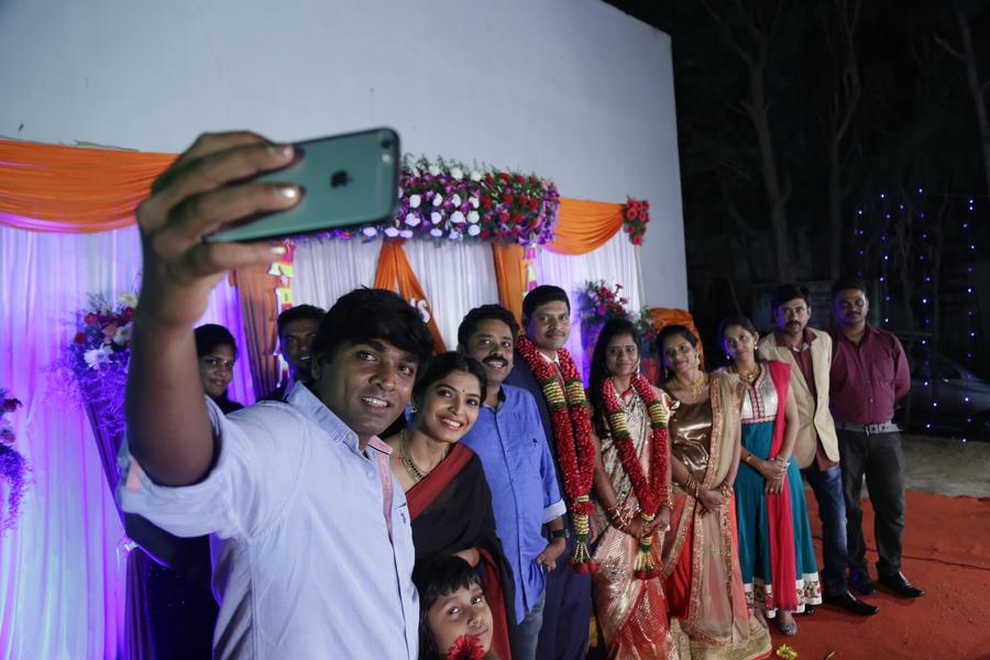 Director Seenu Ramasamy's Sister Wedding Reception | Vijay Sethupathi, Sanchita Shetty