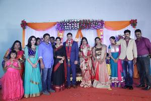 Director Seenu Ramasamy's Sister Wedding Reception | Sanchita Shetty