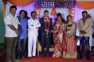 Director Seenu Ramasamy's Sister Wedding Reception | Kalaipuli S. Thanu