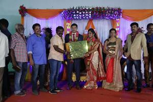 Director Seenu Ramasamy's Sister Wedding Reception | Imman Annachi
