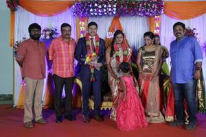 Director Seenu Ramasamy's Sister Wedding Reception | Ilavarasu