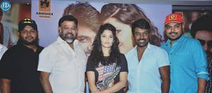 Raghava Lawrence, Ritika Singh, Sakthi Vasu, Director P. Vasu, Thaman Music Director at Shivalinga Press Meet Stills