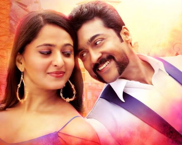 suriya anushka shetty romantic stills from s3 movie