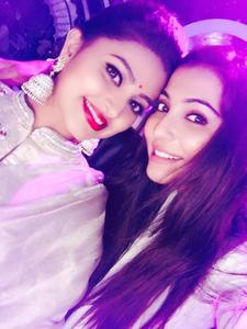 Parvathy Nair, Sneha On the sets of Dance Jodi Dance