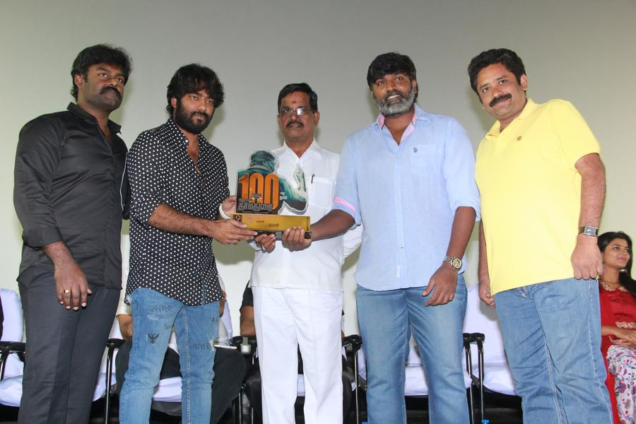 Dharma Durai Movie 100 Days Celebration Stills | S Thanu, Vijay Sethupathi, R. K. Suresh, Director Seenu Ramasamy