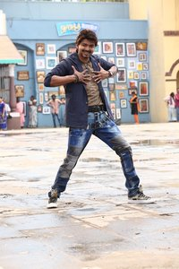 Vijay still from in Bairavaa Movie