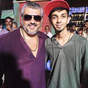 Ajith Kumar and Anirudth Ravichander