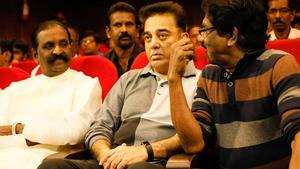 Bharathiraja, Kamal Haasan, Vairamuthu at SICA Tamil Website Launch Stills