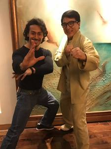 Tiger Shroff with Jackie Chan