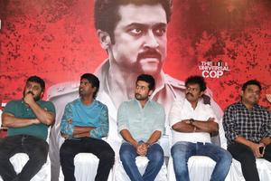 Suriya, Soori, Hari, Harris Jayaraj at Si3 aka Singam 3 Movie Press Meet