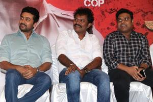 Suriya, Hari, Harris Jayaraj at Si3 aka Singam 3 Movie Press Meet