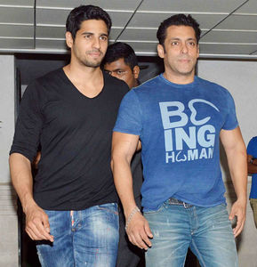 Salman Khan and Sidharth Malhotra