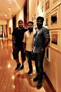 Music Director Thaman, Director Vijay Chandar, Cinematographer M. Sukumar