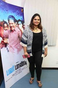 Power Paandi Press Meet Stills | Vidyullekha Raman