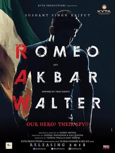 Sushant Singh Rajput's Romeo Akbar Walter First Look Posters