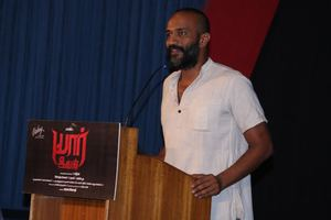 Yaar Ivan Movie Press Meet Stills | Kishore