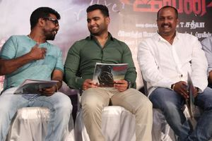 Yaar Ivan Movie Press Meet Stills | Sachiin J. Joshi, Kannal Kannan, Director T. Satya