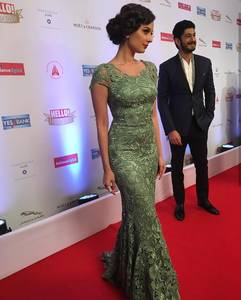 Evelyn sharma at the HELLO Hall Of Fame Awards 2017