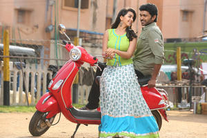 Vikram Prabhu and Nikki Galrani Stills From Neruppuda