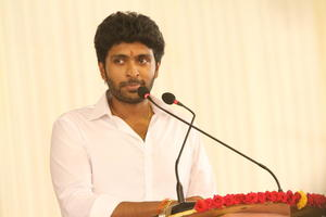 Vikram Prabhu At Neruppuda Movie Audio Launch