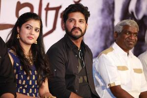 Vijay Yesudas, Amritha, Karthik Raja at Padai Veeran Audio Launch