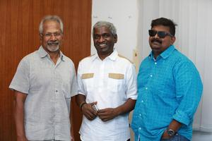Karthik Raja, Mani Ratnam, Mysskin at Padai Veeran Audio Launch