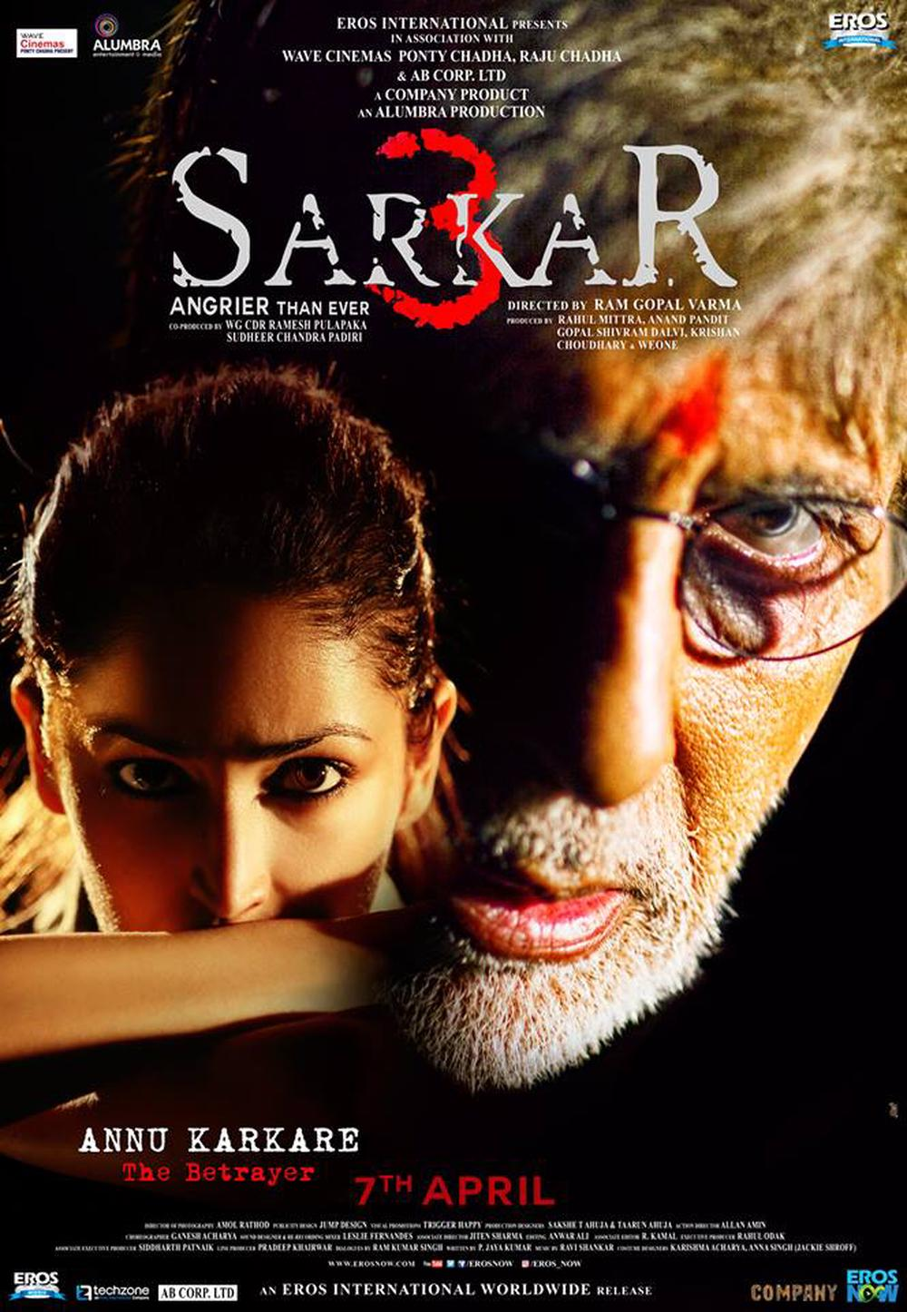 Sarkar 3 Movie Posters