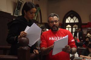 Haseena Hindi Movie Working Stills