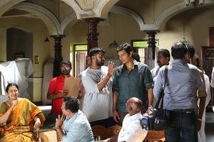 Sangili Bungili Kadhava Thorae Working Stills