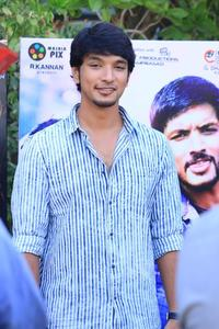 Checkout the audio launch stills of Tamil movie Ivan Thandhiran. The event was attended by Gautham Karthik, RJ Balaji, S.S Thaman & Shraddha Srinath.