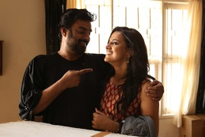 Checkout the stills of Tamil movie Vikram Vedha starring Vijay Sethupathi, Madhavan, Shraddha Srinath, Varalaxmi Sarathkumar  and others.