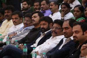 Checkout the stills of Balakrishna's 100th movie Gautami Putra Satakarni (Tamil) Audio Launch. The event was attended by Actor Balakrishna, Karthi, Director K.S Ravikumar and many others. While speaking at the event, Balakrishna said, he is happy to be in Chennai and hopes that the film will do well in Tamil.
